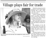 Village plays for fair trade